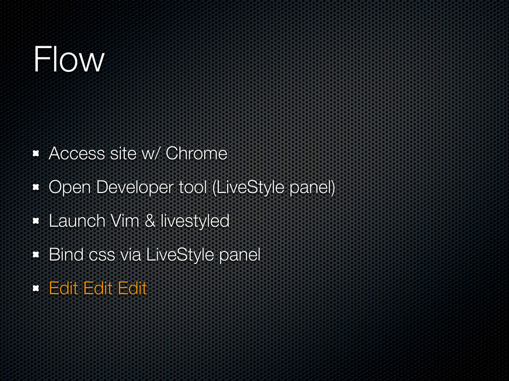 Flow Access site w/ Chrome Open Developer tool ...
