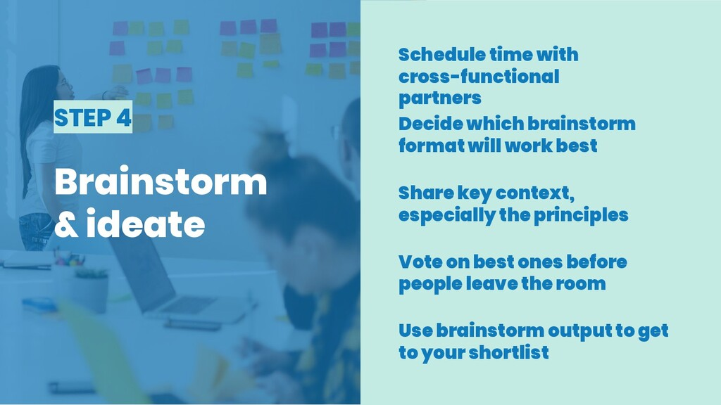 STEP 4 Brainstorm & ideate Schedule time with c...