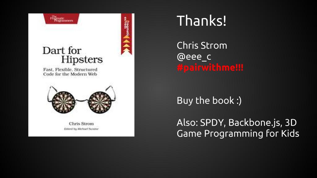 Thanks! Chris Strom @eee_c #pairwithme!!! Buy t...
