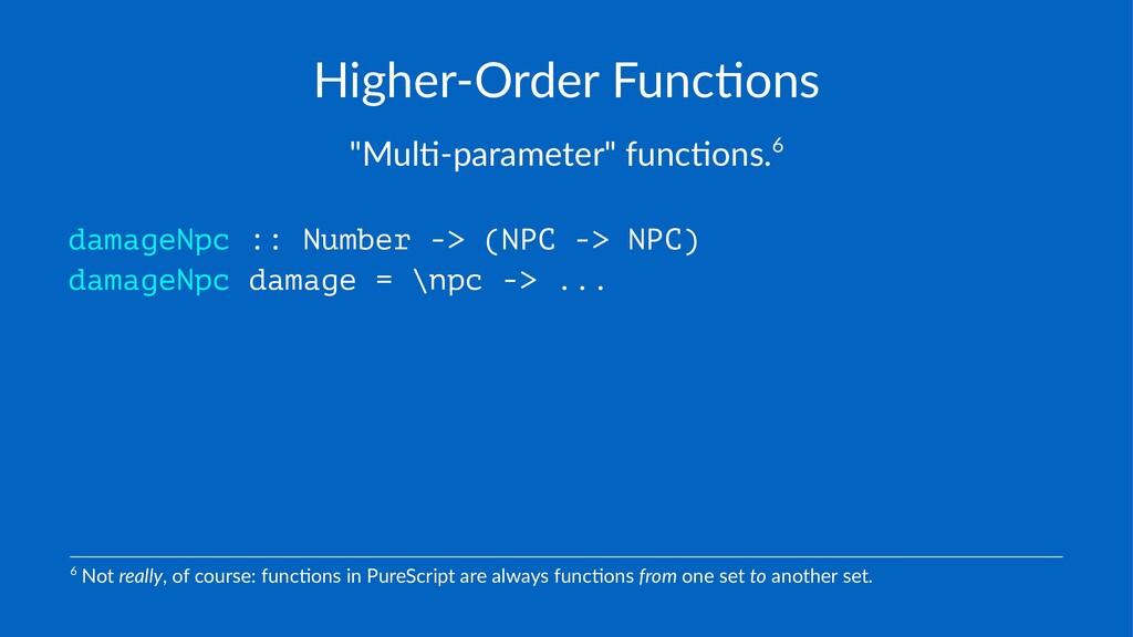"""Higher'Order*Func/ons """"Mul%&parameter""""-func%ons..."""