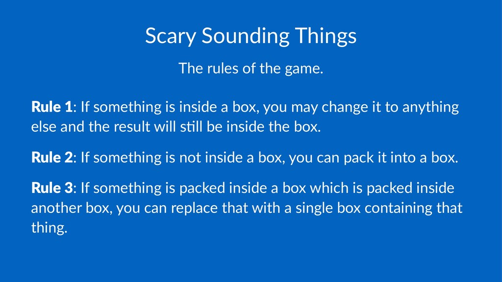 Scary&Sounding&Things The$rules$of$the$game. Ru...