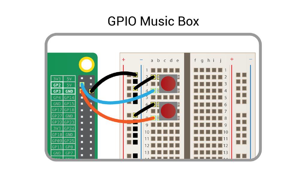 GPIO Music Box