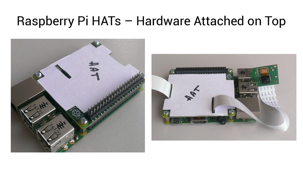 Raspberry Pi HATs – Hardware Attached on Top