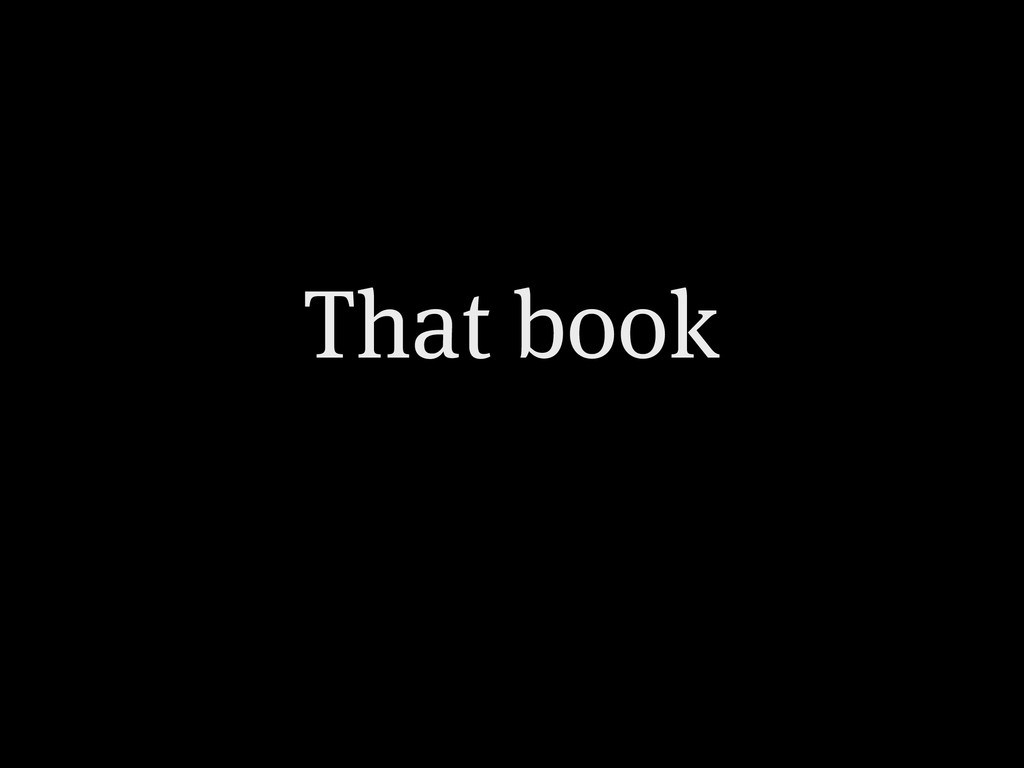 That book
