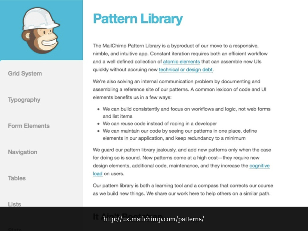 http://ux.mailchimp.com/patterns/