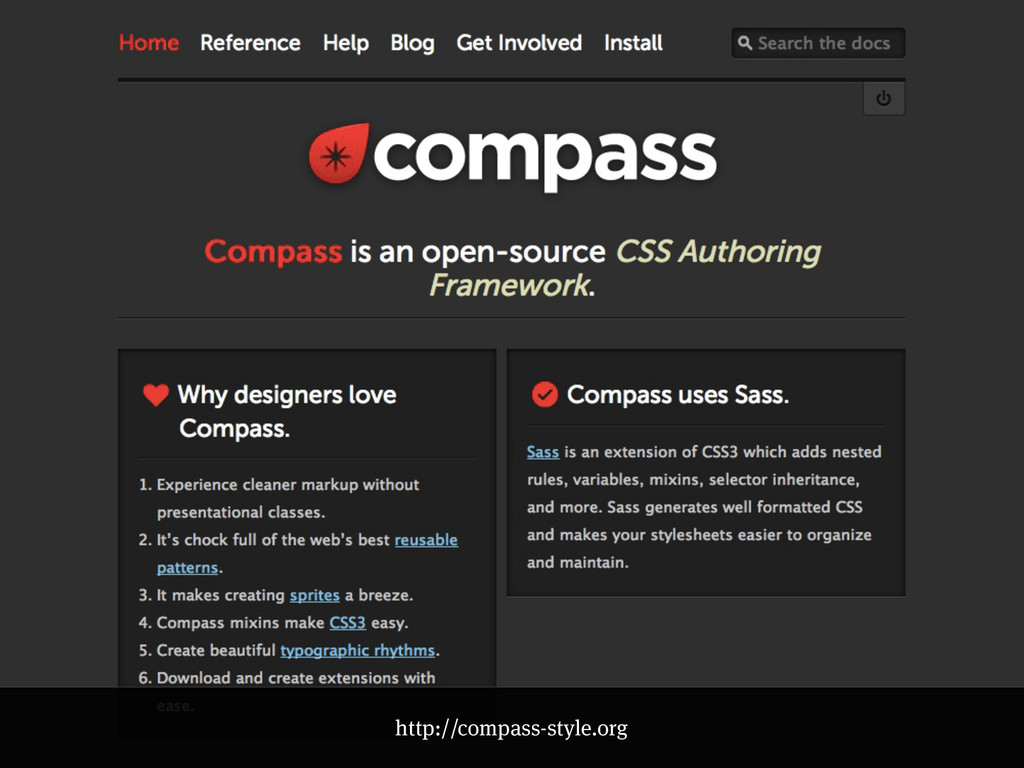 http://compass-style.org
