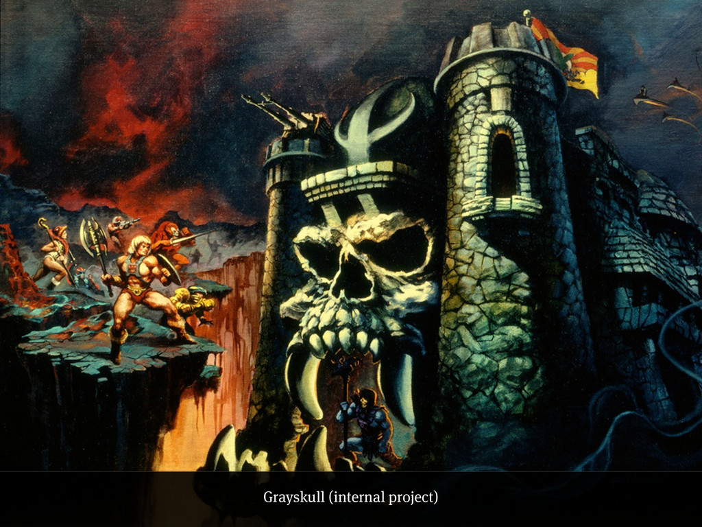 Grayskull (internal project)