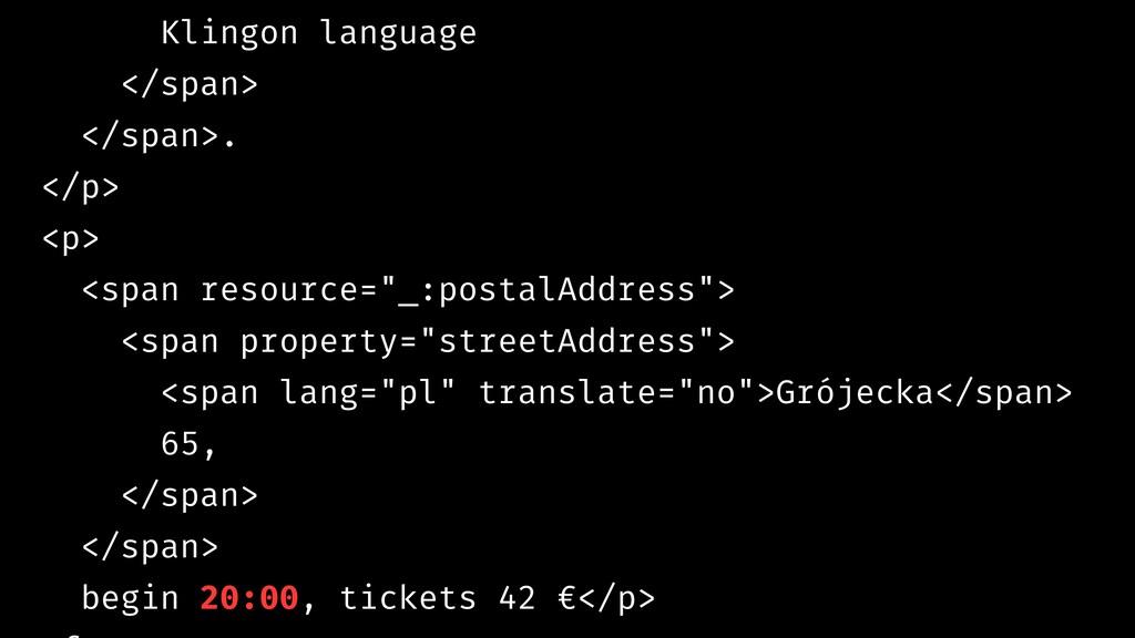 Klingon language </span> </span>. </p> <p> <spa...