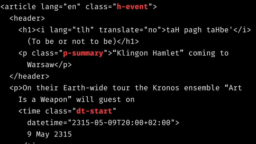 """<article lang=""""en"""" class=""""h-event""""> <header> <h..."""