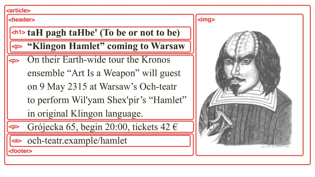 """taH pagh taHbe' (To be or not to be) """"Klingon ..."""