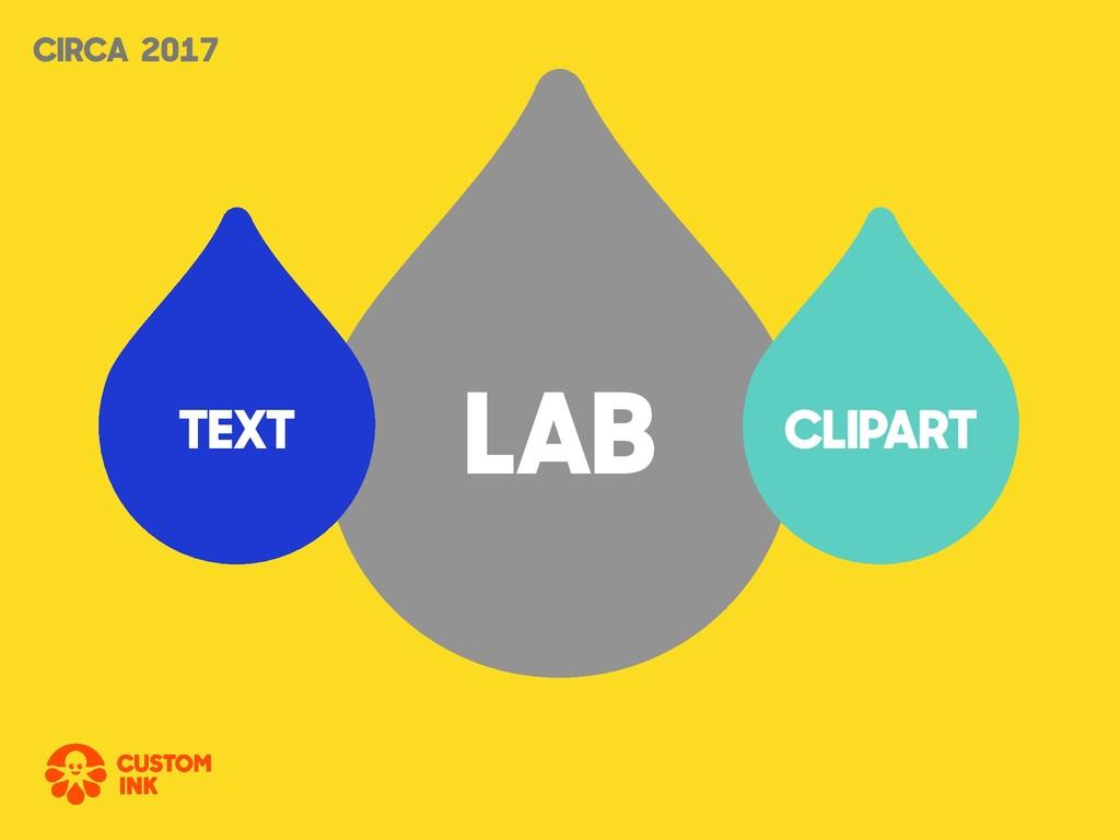 LAB CLIPART TEXT CIRCA 2017