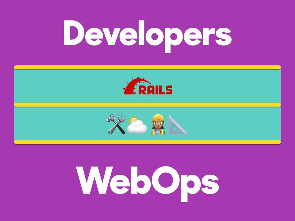 Developers WebOps ⛅$