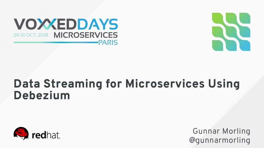 Data Streaming for Microservices Using Data Str...