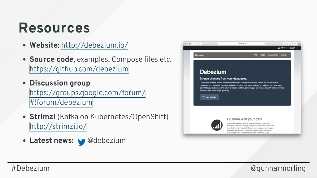 Resources Resources Website: Source code, examp...