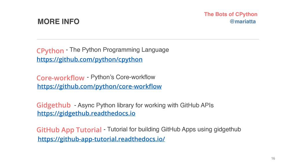 MORE INFO 16 https://github.com/python/core-wor...