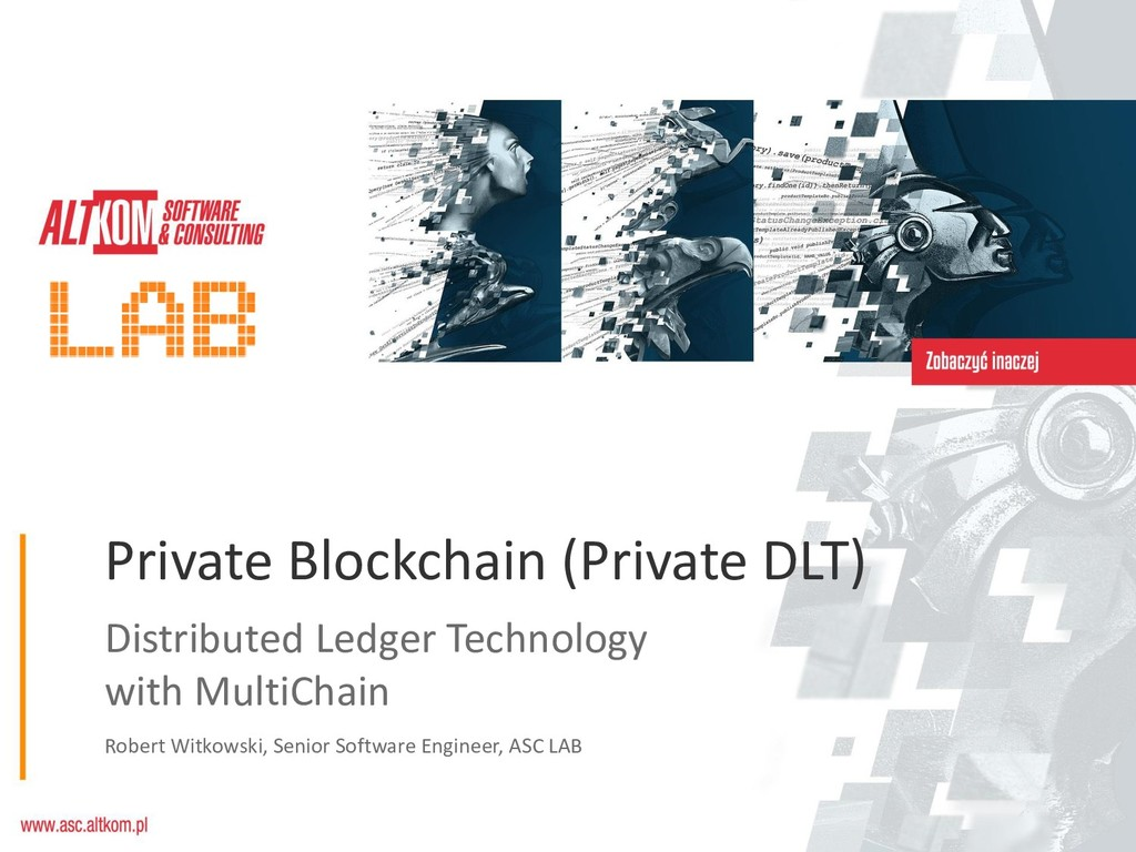 Distributed Ledger Technology with MultiChain R...