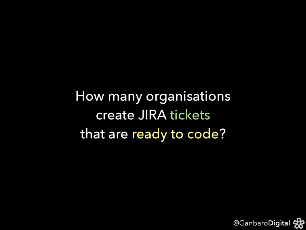 @GanbaroDigital How many organisations create J...