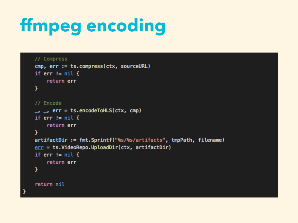 ffmpeg encoding