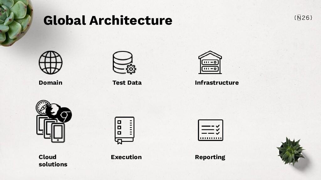 Global Architecture Domain Test Data Infrastruc...