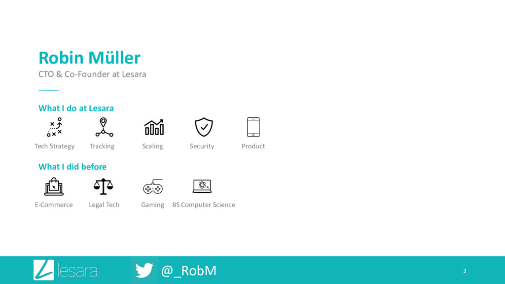 @_RobM 2 Gaming Legal Tech E-Commerce Robin Mül...