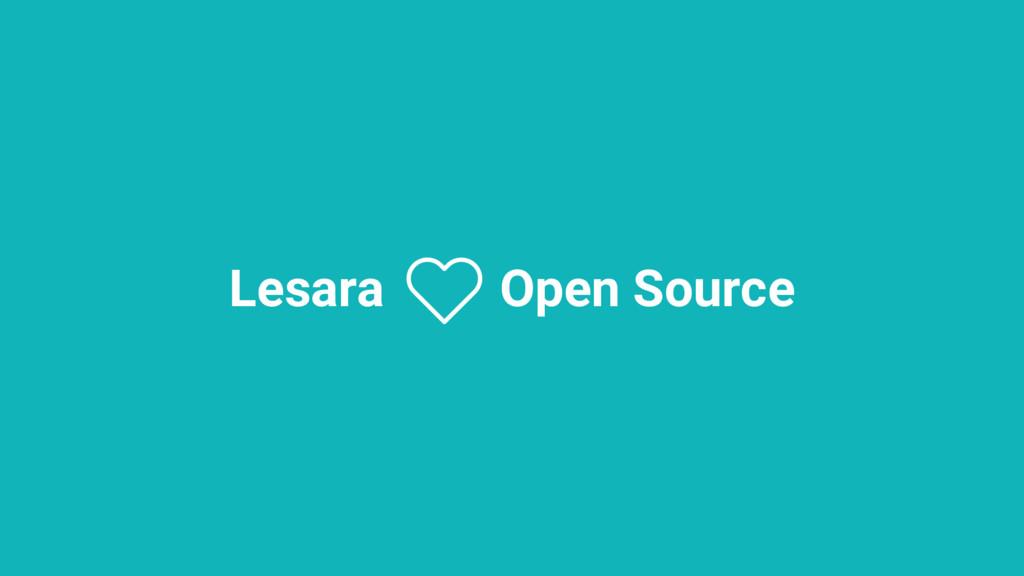 Lesara Open Source