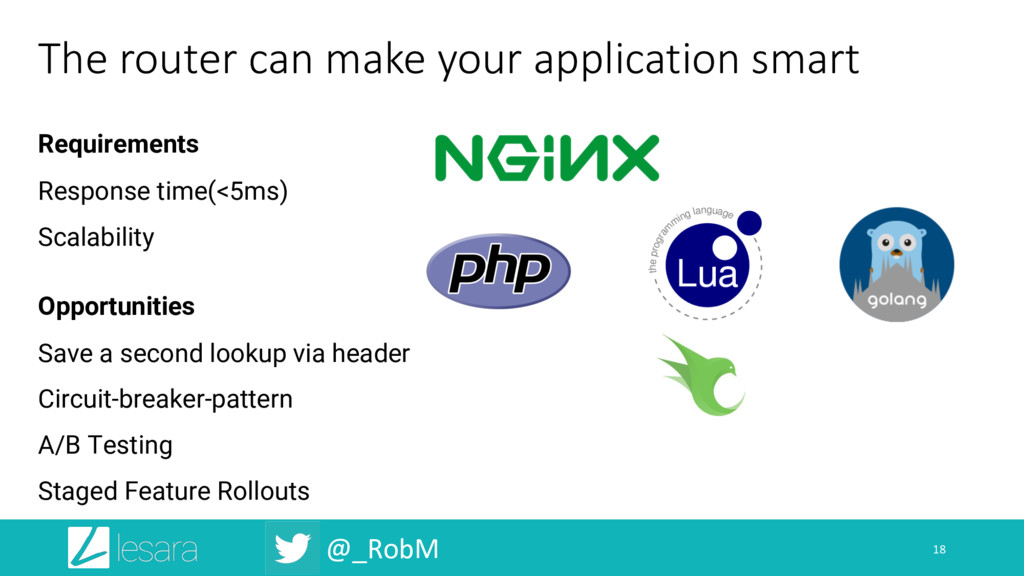 @_RobM The router can make your application sma...