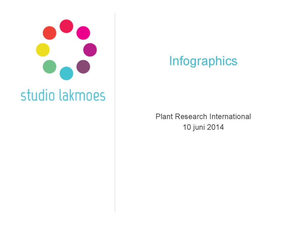 Infographics Plant Research International 10 ju...