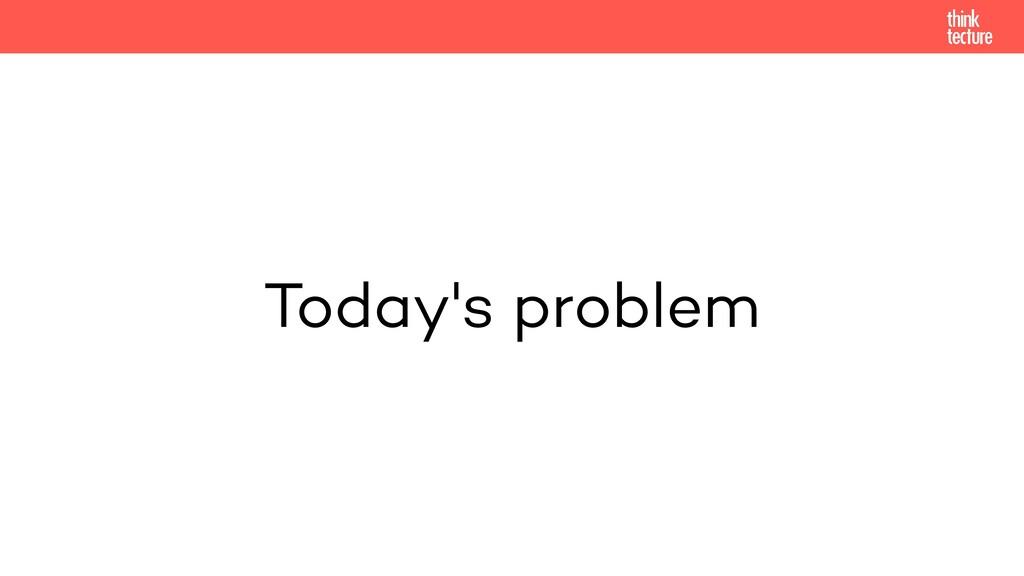 Today's problem