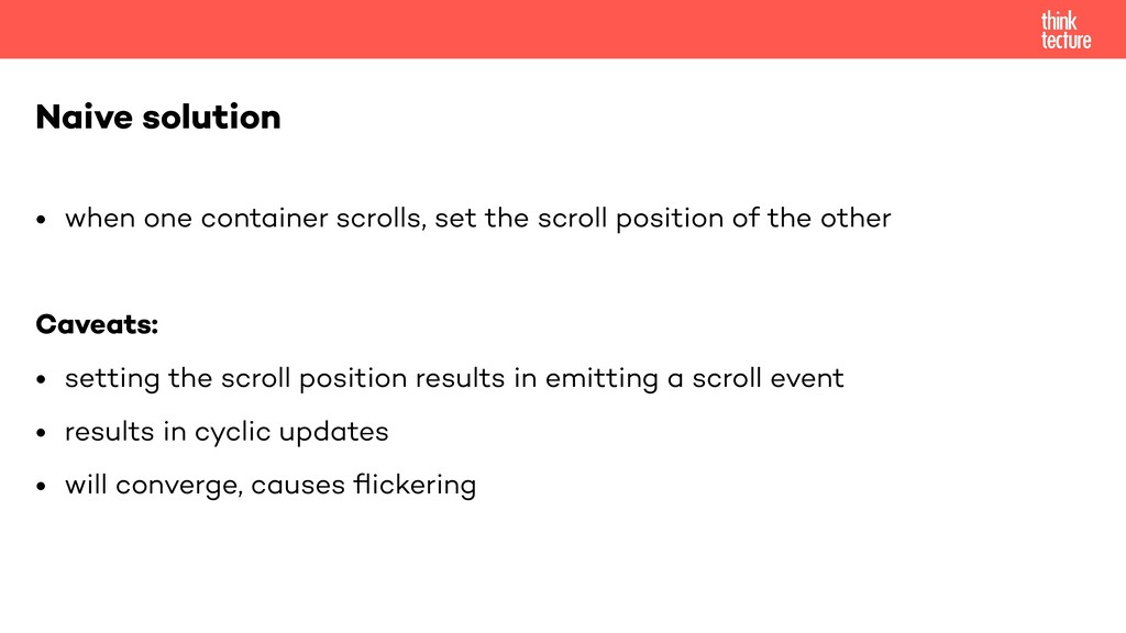 • when one container scrolls, set the scroll po...