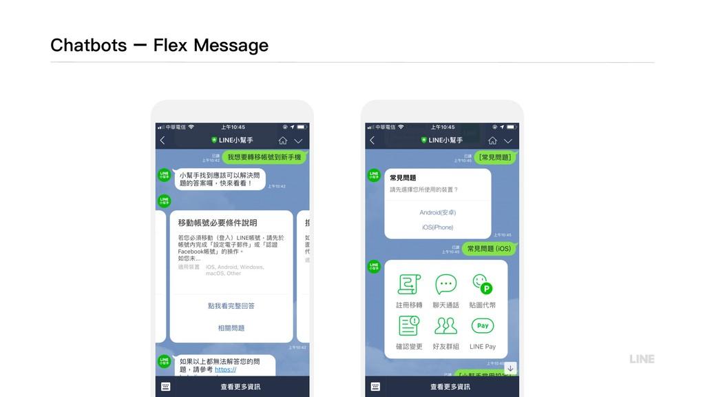 Chatbots – Flex Message