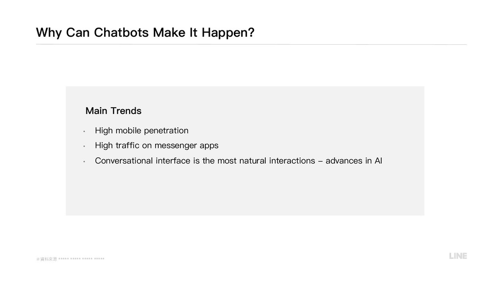 Main Trends • High mobile penetration • High tr...