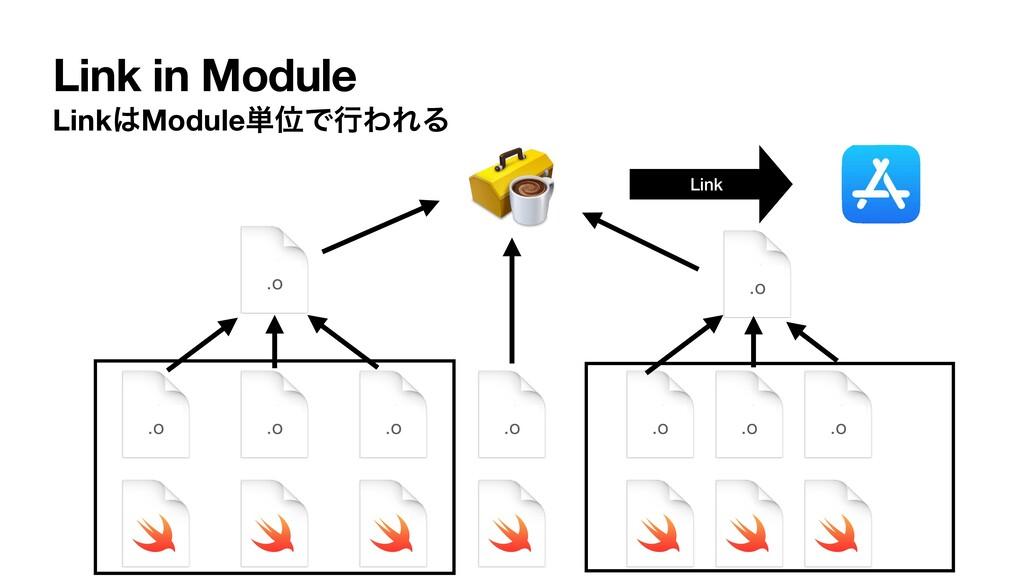 Link in Module LinkModule୯ҐͰߦΘΕΔ Link .o .o .o...