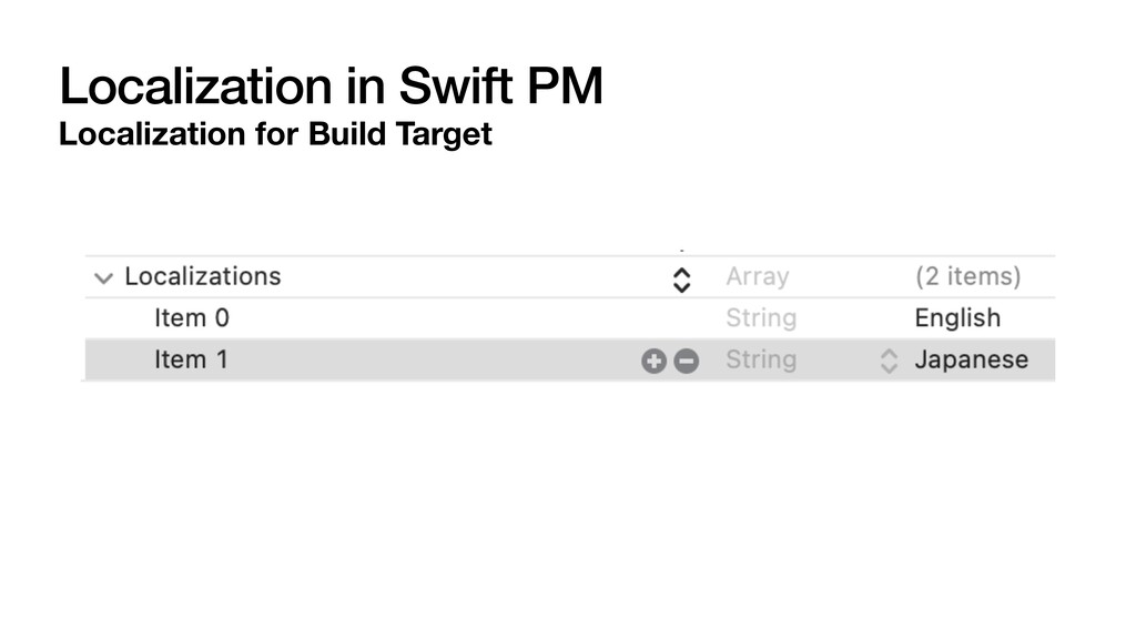 Localization in Swift PM Localization for Build...