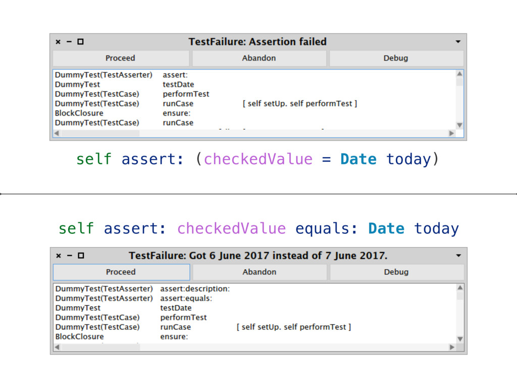 self assert: checkedValue equals: Date today se...