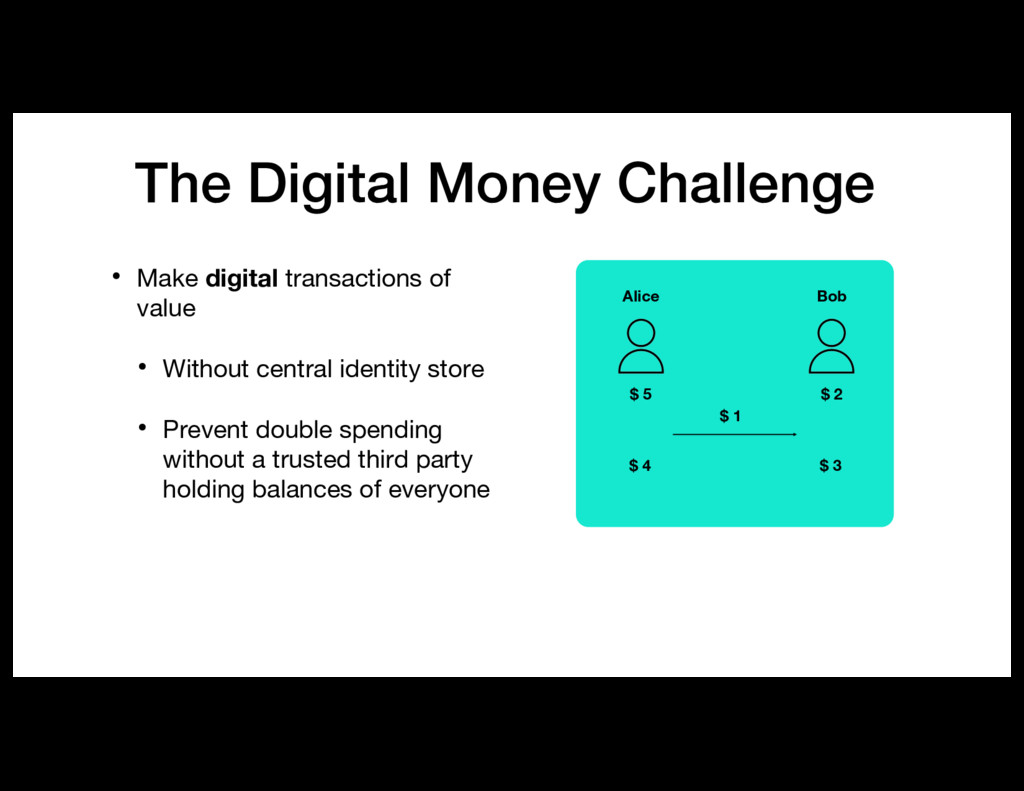 The Digital Money Challenge • Make digital tran...