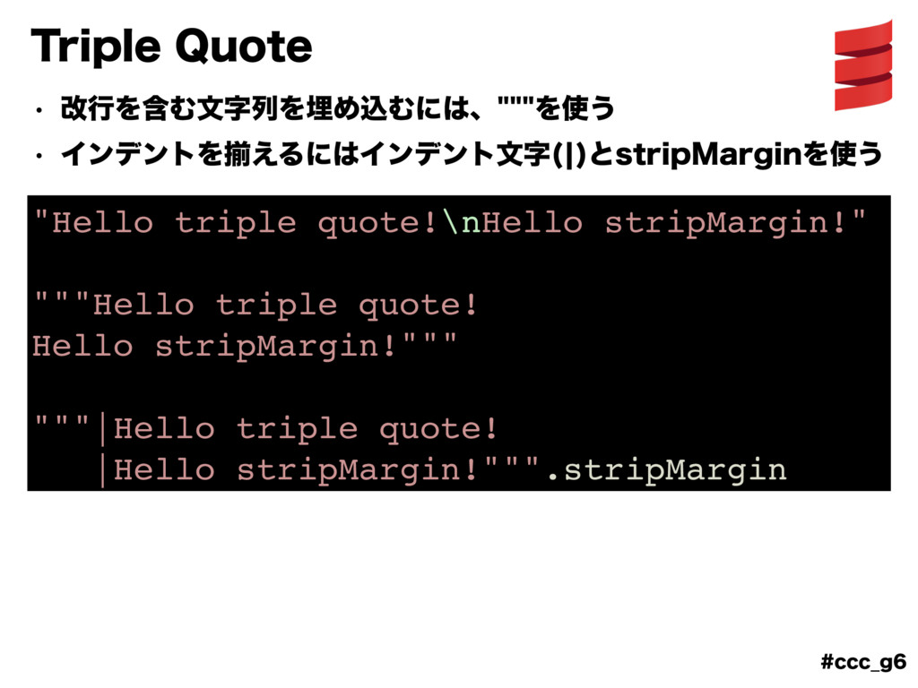 "DDD@H 5SJQMF2VPUF ""Hello triple quote!\nHell..."
