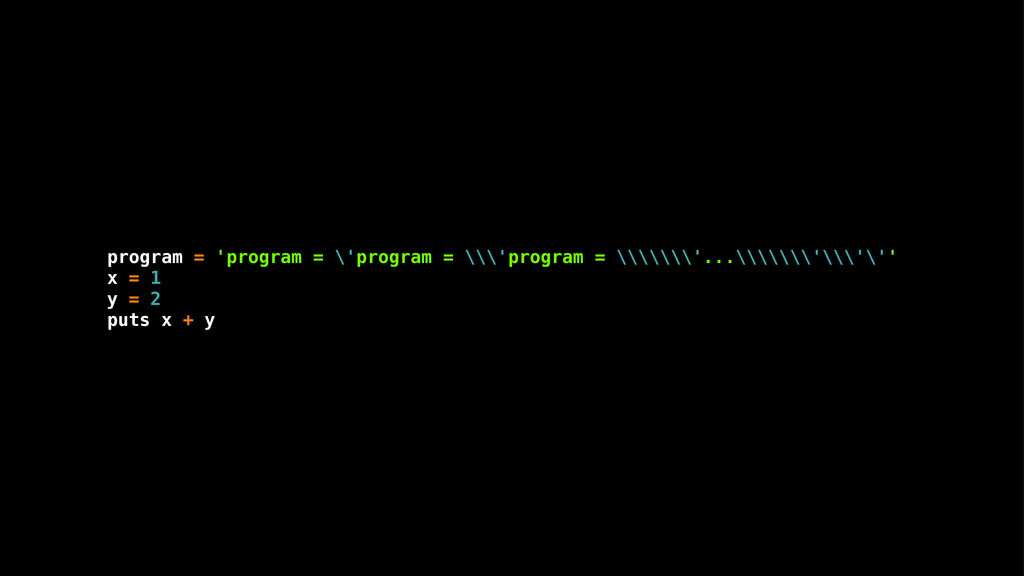 program = 'program = \'program = \\\'program = ...