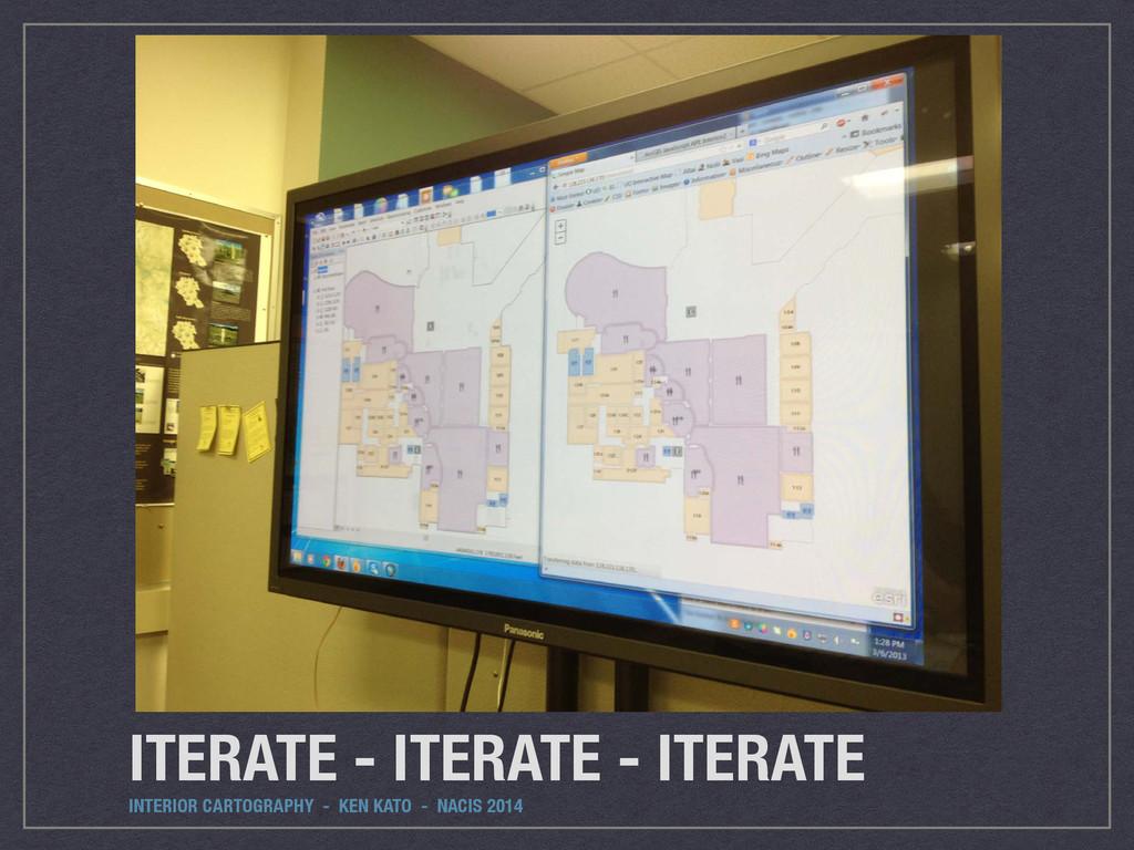 ITERATE - ITERATE - ITERATE INTERIOR CARTOGRAPH...