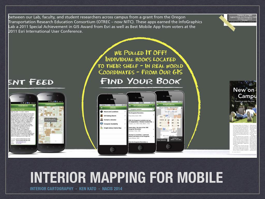 INTERIOR MAPPING FOR MOBILE INTERIOR CARTOGRAPH...