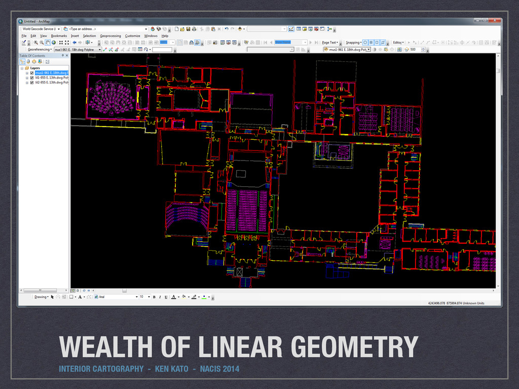 WEALTH OF LINEAR GEOMETRY INTERIOR CARTOGRAPHY ...
