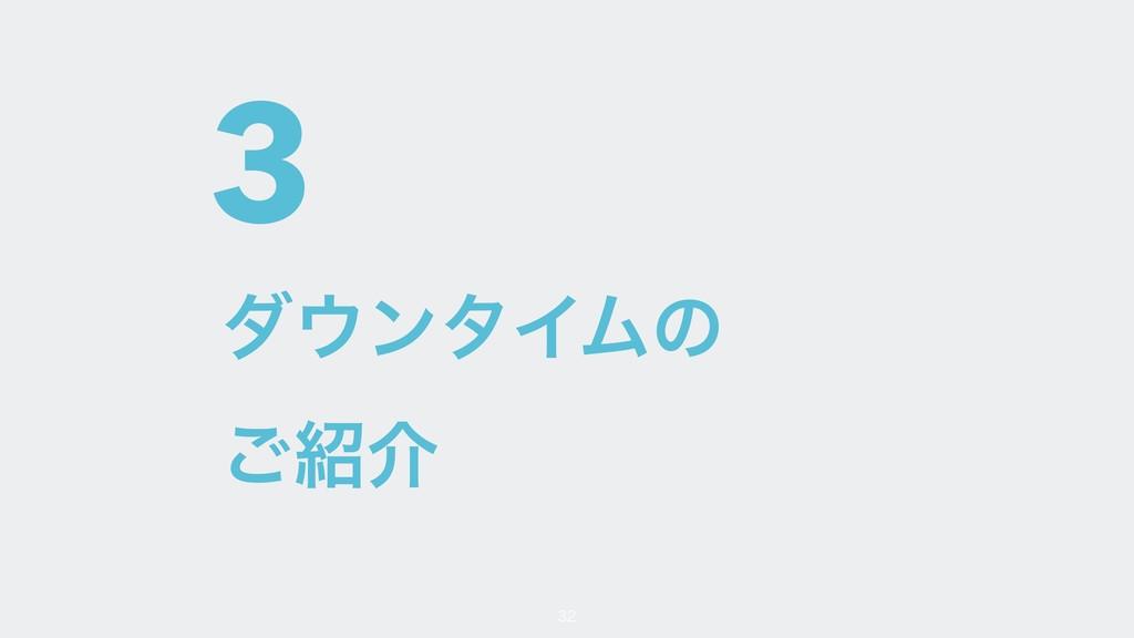 3 μϯλΠϜͷ ͝հ