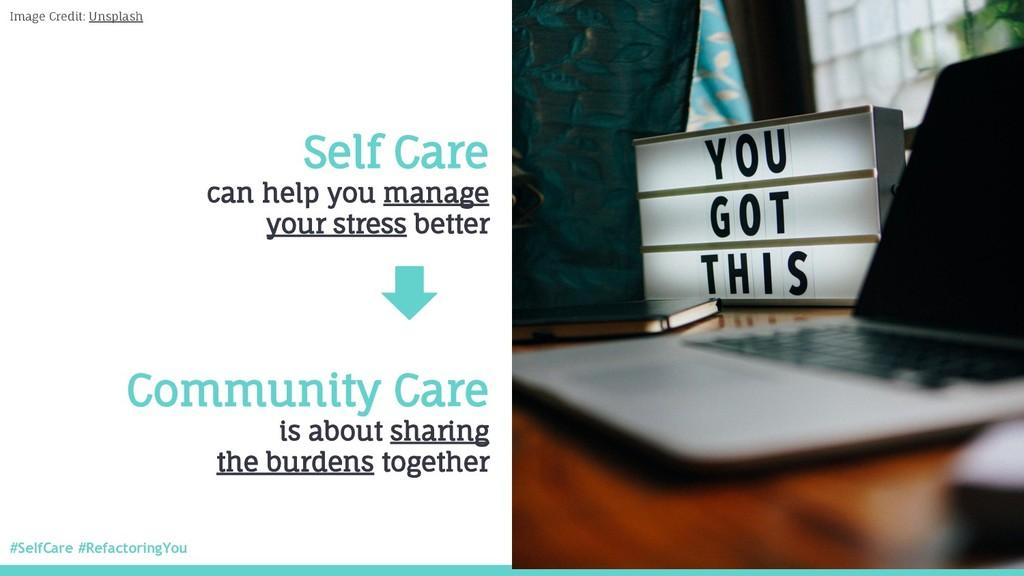 #SelfCare #RefactoringYou @nitya Self Care can ...