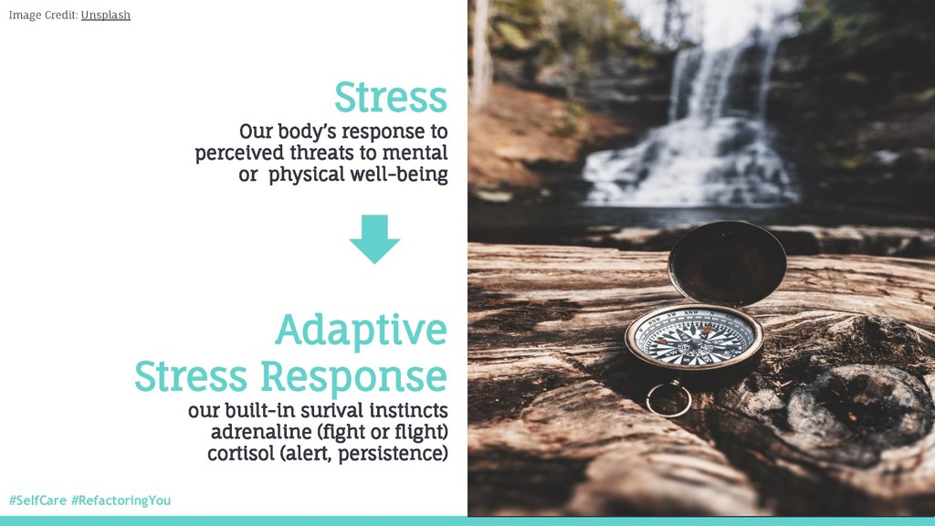 #SelfCare #RefactoringYou @nitya Stress Our bod...