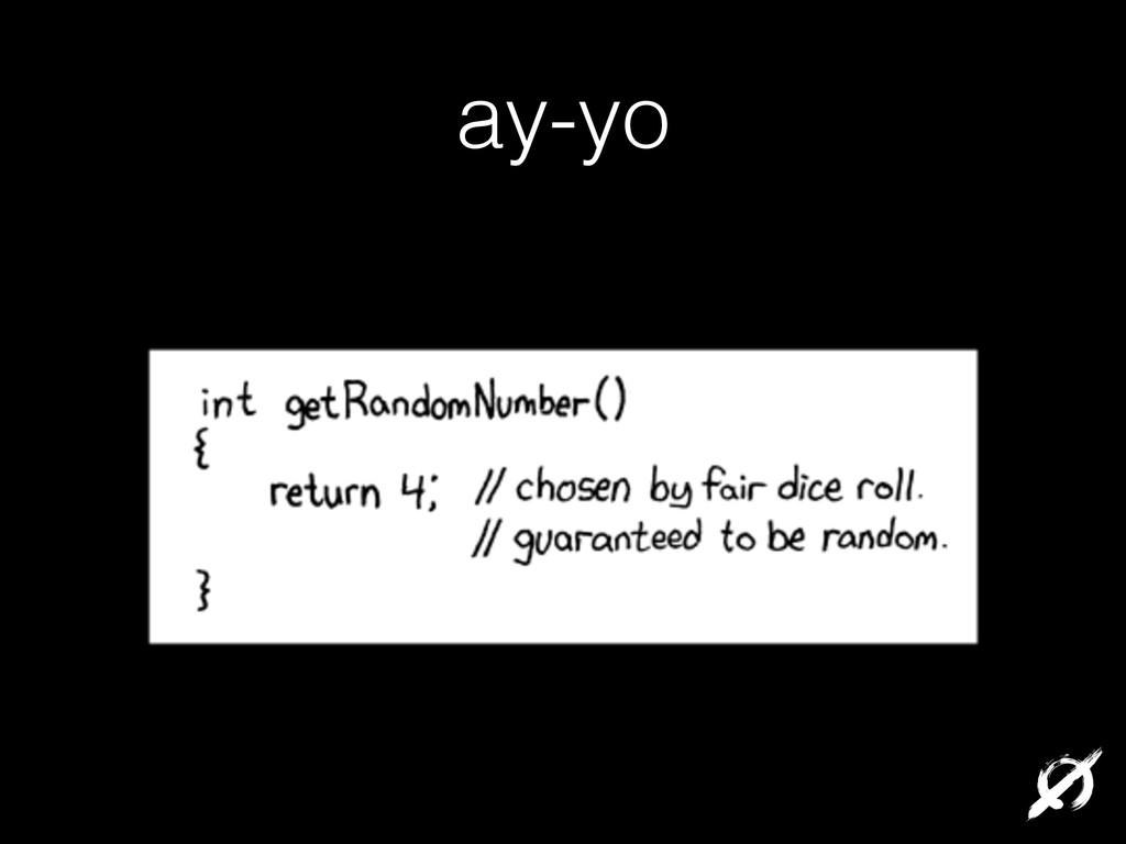 ay-yo