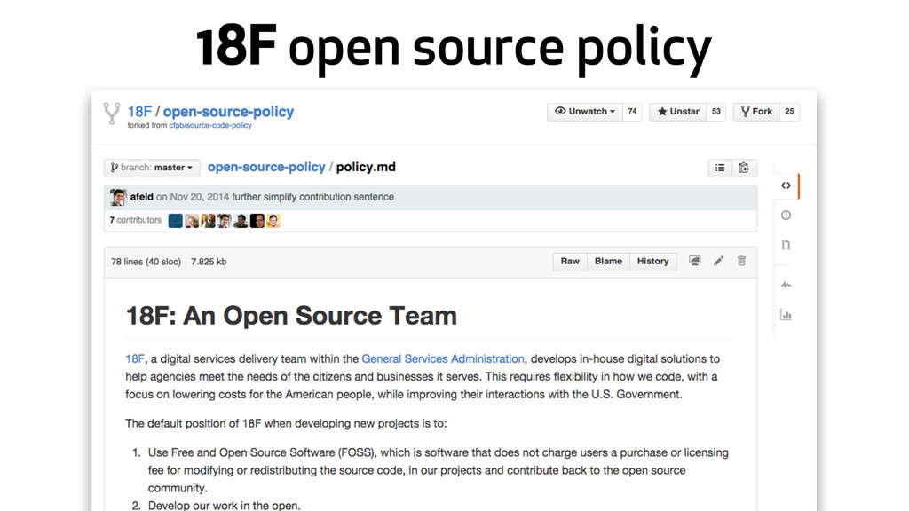 18F open source policy
