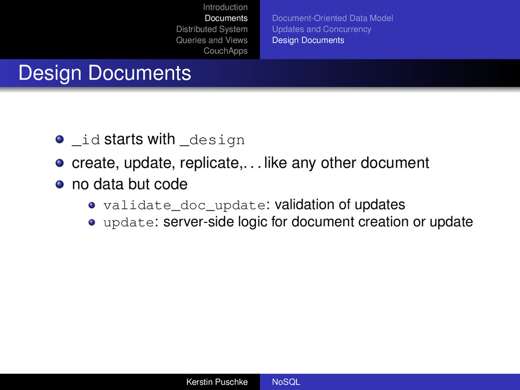 Introduction Documents Distributed System Queri...