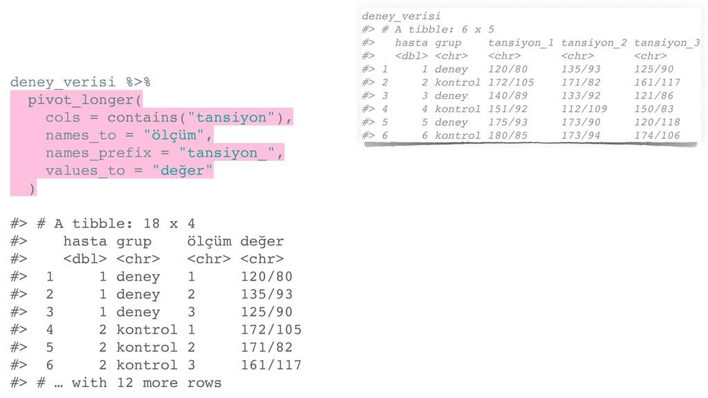 deney_verisi %>% pivot_longer( cols = contains(...