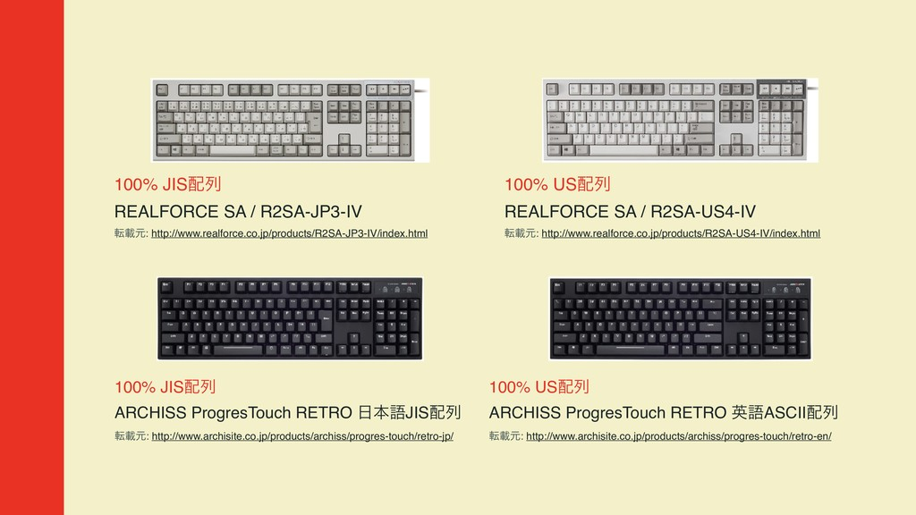 100% JISྻ  REALFORCE SA / R2SA-JP3-IV సࡌݩ: ht...