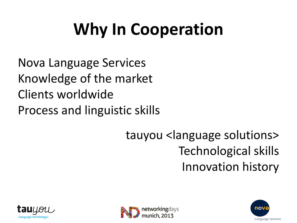 Why In Cooperation Nova Language Services Knowl...