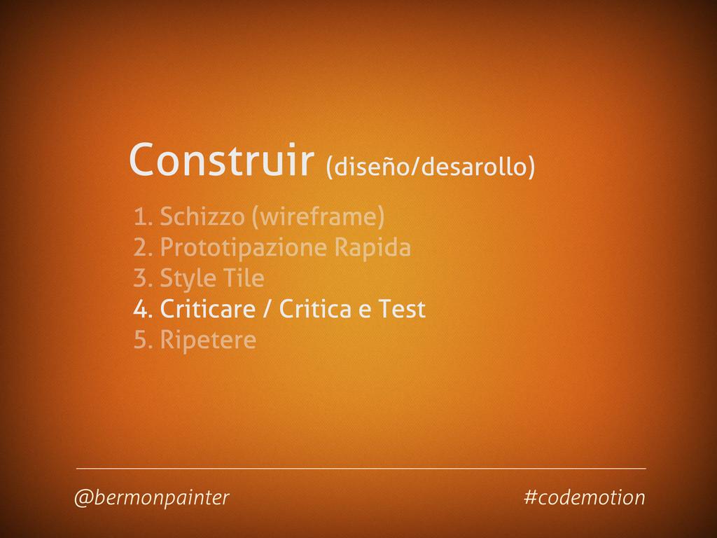 Construir (diseño/desarollo) @bermonpainter #co...
